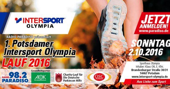 1. Potsdamer Intersport-Olympialauf